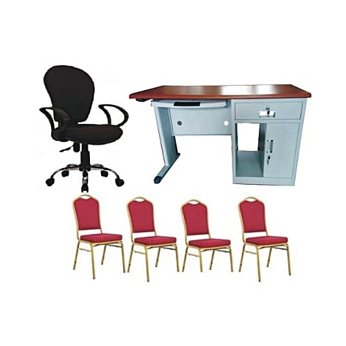 Exquisite Metal Office Table, Zodiac Office Chair & Zodiac Office Chairs