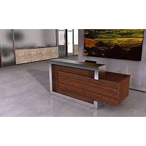 Prendoy Office Front Reception Desk(Customizable Measurement) - Lagos Only