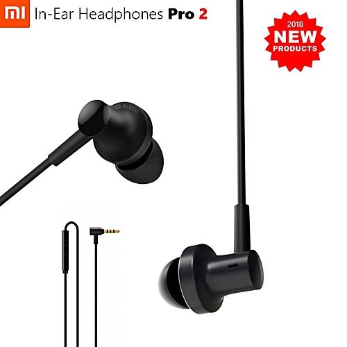 Mi Hybrid Pro 2 Earphone Dual Driver Armature In-Ear Mic Line