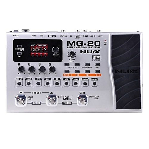 Guitar Effect MG-20 With Expression Pedal