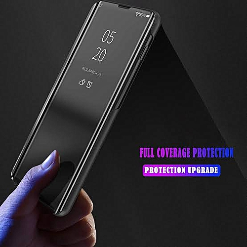 cheap for discount d7cd6 dd030 Galaxy A20 Flip Standing Clear View Smart Cover