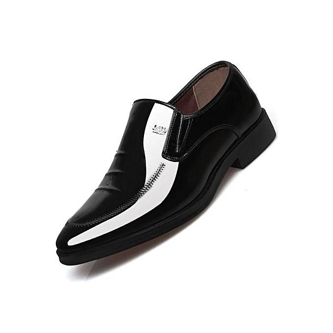 Fashion Men Dress Shoes Genuine Leather 2019 Fashion Men S Oxford