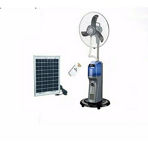 Rechargeable Mist Fan With 10 Watts Panel