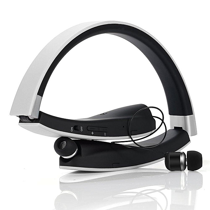 ce09be147bf ... Bluetooth Headset, SX-991 Wireless Bluetooth Headphone Retractable  Foldable Sweatproof Headset Sports Stereo With ...
