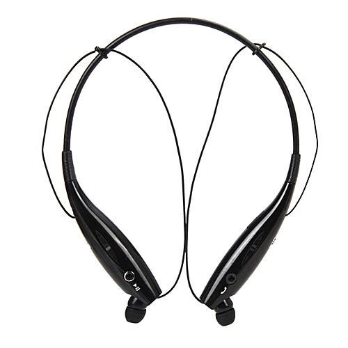 Wireless Neckband Earbud Headset KBP - 730 - Black.