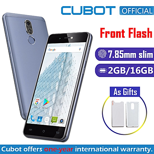 "R9 - 3G Phablet - 5.0"" 13MP+5MP With Front Flash (2GB, 16GB ROM) Android 7.0 Fingerprint - Blue"