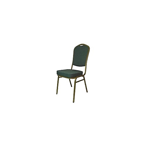 Steel Emperor Banqueting Chair-Green