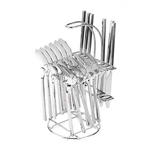 24Pc Stainless Dinning Cutlery S 5003