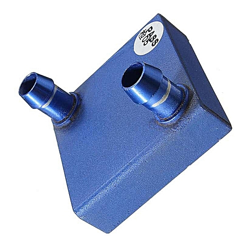 Grace 41x41x12mm Aluminium Water Cooling Heatsink Block Liquid Cooler Blue For CPU GPU Blue