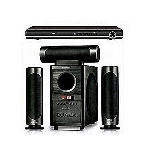 Dj 903l Heavy Duty Home Theatre System With Bluetooth Function + Powerful DVD Player