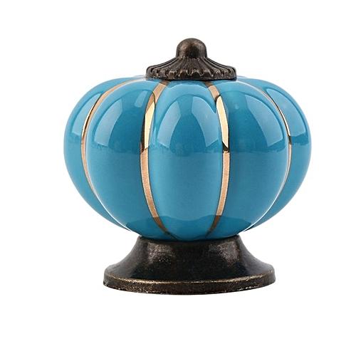 Home-Vintage Pumpkins Knobs Ceramic Door Cabinet Cupboard Drawer Pull Handles