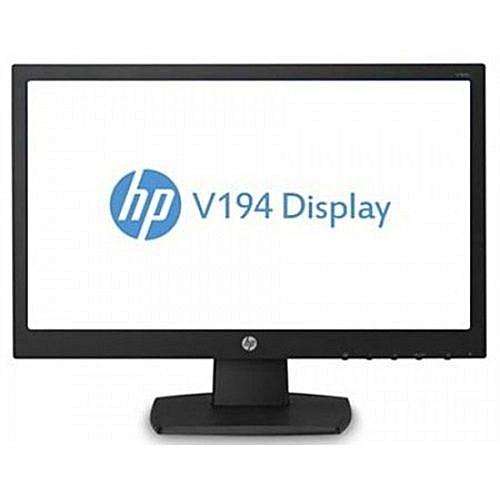 V194 18.5 Inches LED Backlit Monitor 1366 X 768 - Black