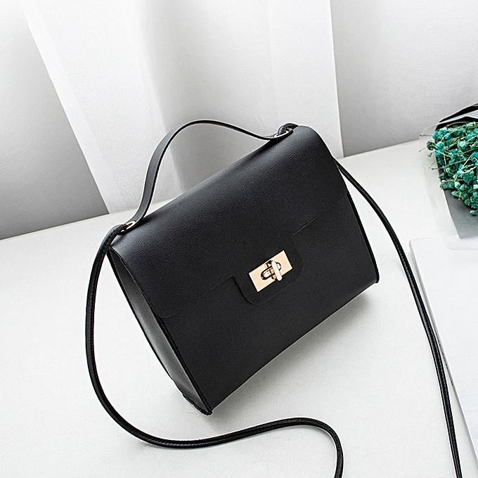 4419ed404a7e Concana Shop Women Shoulder Bag Turn Lock Messenger Satchel Tote Crossbody  Bag Phone Bag ...