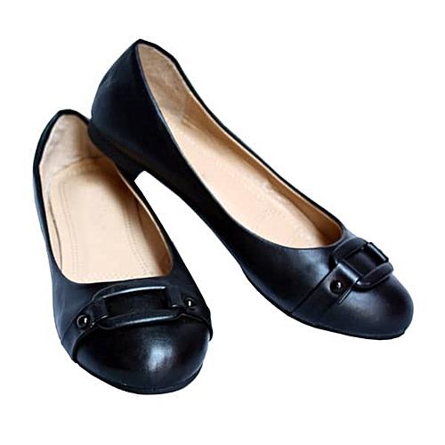 Female Coperate Shoe - Black