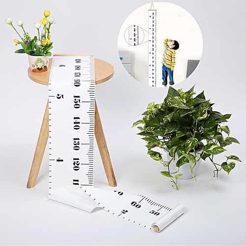 Children Kids Wooden Growth Height Chart Measure Ruler Nursery Wall Hanging