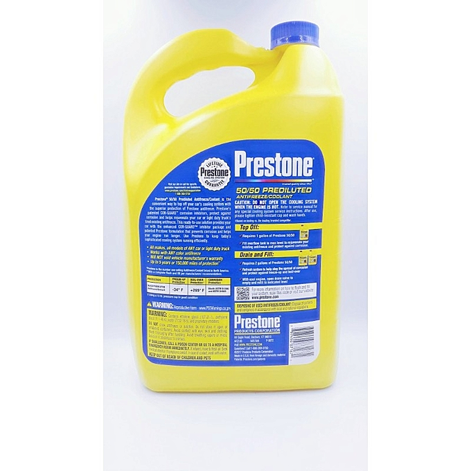 Prestone 50/50 Prediluted Antifreeze/Coolant