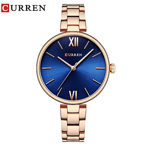Women's Watch-------Top Brand 30ATM Water Resistant Luxury Stainless Steel Ladies Wrist Watch------GOLD