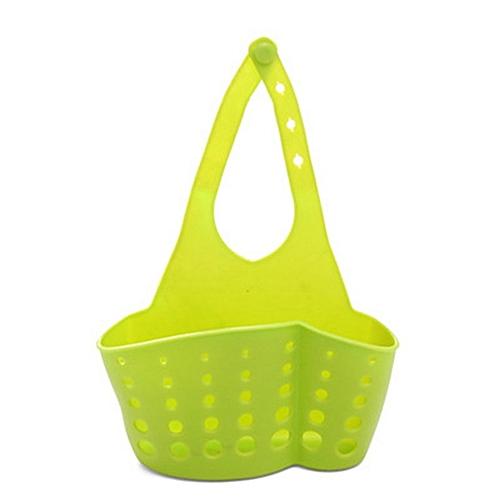 Kitchen Sponge Sink Drain Holder Adjustable Storage Rack Basket