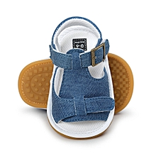 Baby Boys Sandals Shoe Casual Shoes Sneaker Anti-slip Soft Sole Toddler -  Blue 043d6f95213b