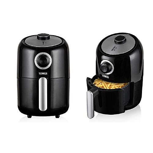 Compact Air Fryer With 30 Minute Timer, 1000W, 1.6L