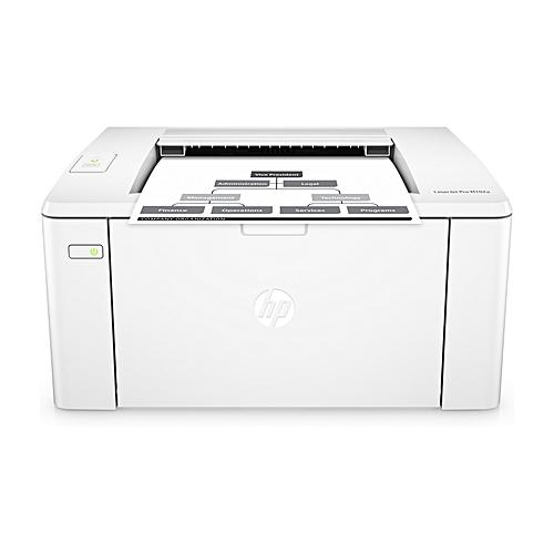 Pro M102a Printer Black And White Laserjet