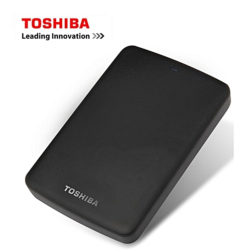 Toshiba Canvio External Hard Drive - 500GB