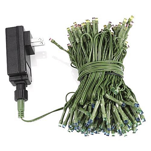 200-LED String Light High Voltage - US Plug - Colorful