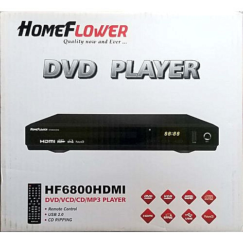 DVD Player With HDMI + AV Wire
