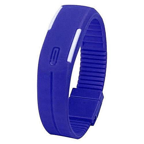 Women Men Date Sport LED Display Watches Bracelet Wristband Unisex Digital Watch