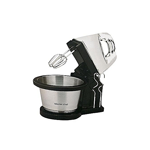 Cake Mixer With Rotating Bowl
