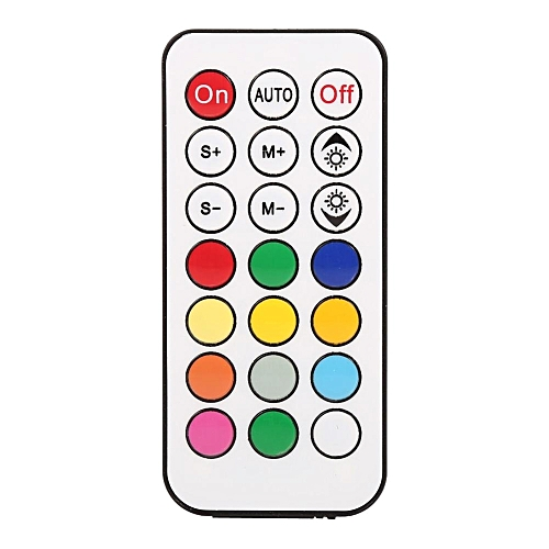 DC 12V Mini 21 Keys IR Wireless Remote Controller For WS2811 WS2812B LED Strip Lights