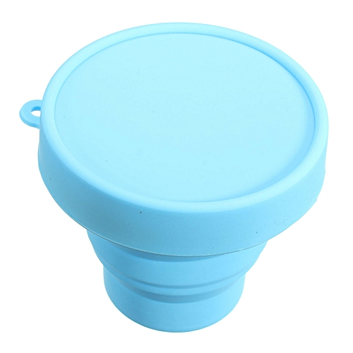Portable Silicone Mugs Retractable Folding Cup Telescopic Collapsible Cups Outdoor Travel Outdoor Sports Gargle Mug 170ml