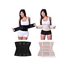 655a04804bc Miss Belt Adjustable Body Shaper Waist Slimmer Trimmer And Belly Flattener  - Black