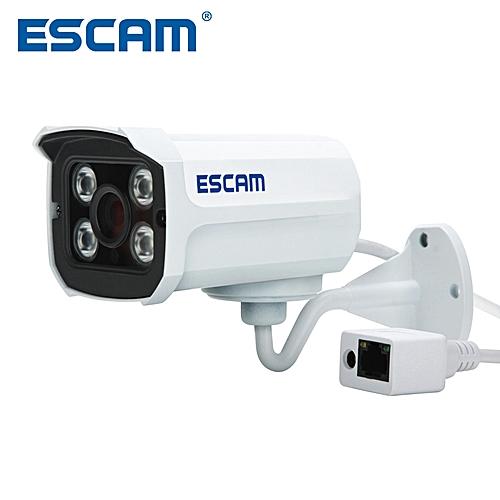 Escam QD300 Mini Bullet IP Camera 1.0 MP HD 720P Onvif P2P IR Outdoor Surveillance Night Vision Infrared Security CCTV Camera CUI WOT