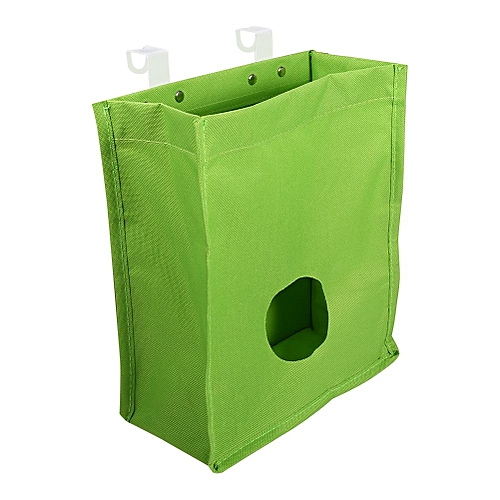 Oxford Plastic Home Kitchen Hanging Sundries Storage Bags Green