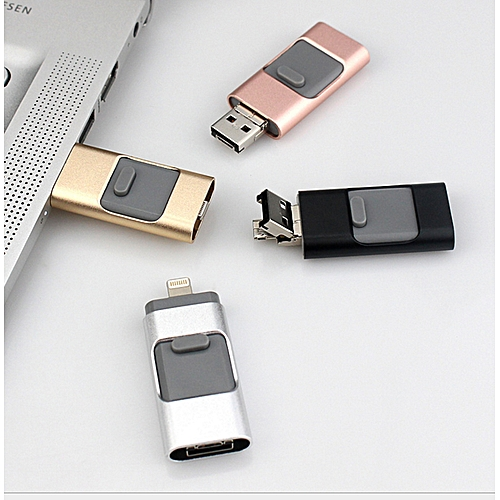 3-in-1 OTG Flash Drive For PC, IPhone And Android