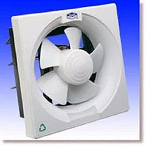Ventilation Extractor Exhaust PVC Kitchen Bathroom Toilet Wall Fan- (12 Inch)