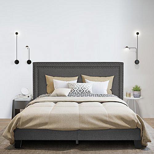 Bedroom Furniture Kaniel Upholstered Bedframe