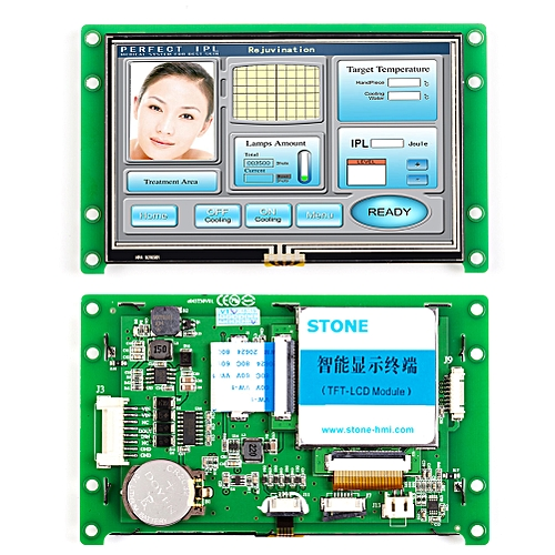 "STONE 4.3"" TFT LCD Smart Home Touch Control Panel"