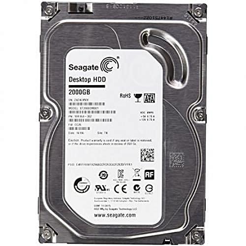 2TB Desktop Internal Hard Drive Seagate