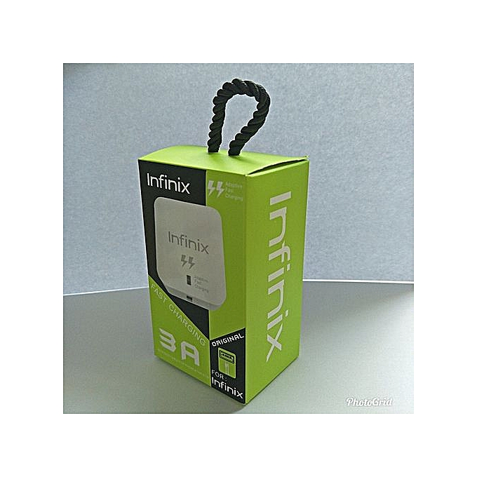Infinix  Fast Charger Adapter & USB Cable