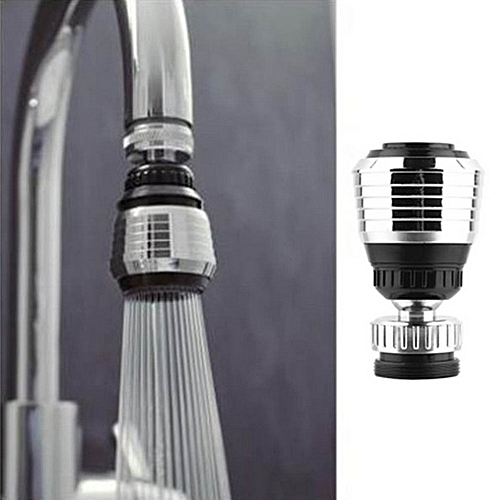 2 PCS Kitchen Strainer Bubbler Water-saving Aerator Shower Splash Faucet Filter Swivel Head, Size: 62 X 36 X 23.5mm