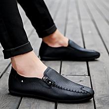 5fce3f06bd082a Men  039 s Casual Shoes Korean Loafers Shoes-Black