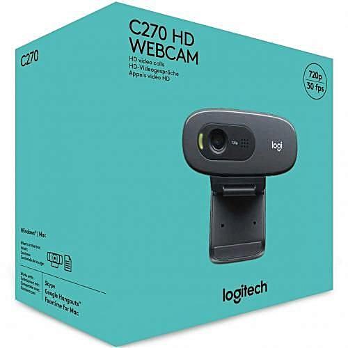 Webcam C270 HD Logitech