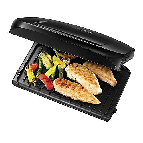 5-Portion Family Health Grill - Removable Plates