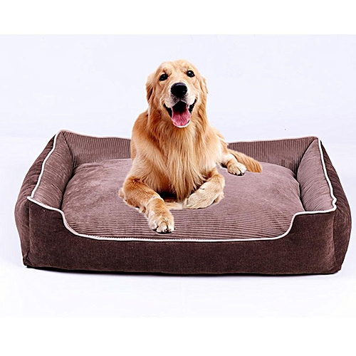 Dog Beds - Heavy Duty Waterproof Cushion Futon Mat Washable Pet New S M L XL#XL