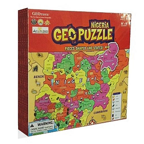 Geo Puzzle Nigeria