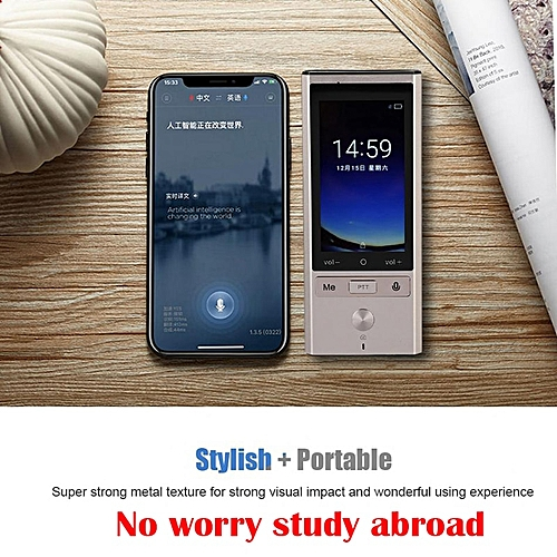T9 Translator 75 Language Intelligence Support Offline Photography In 8 Countries 4G WiFi Multinational Portable Touch Screen WAAAA