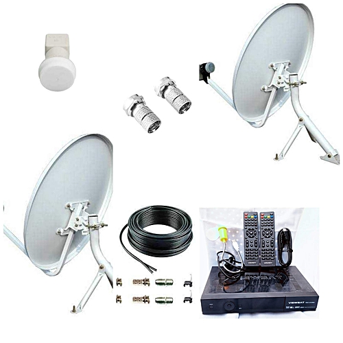 COMPLETE KIT FREE TO AIR Tv SYSTEM & DECODER
