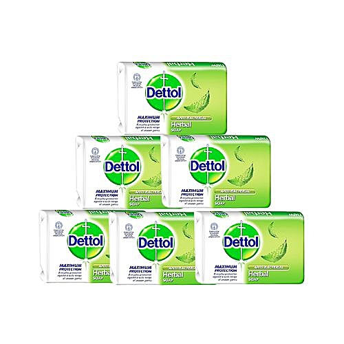 Anti-bacterial Soap 110g - Herbal - Pack Of 6